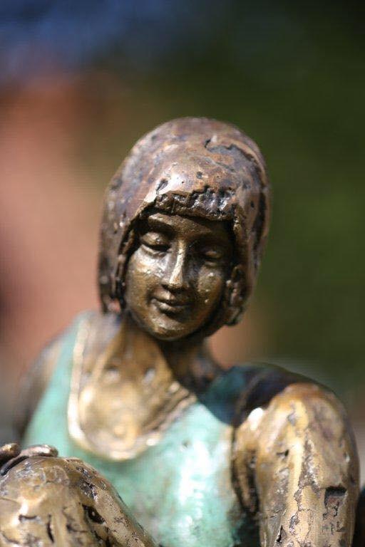 Uniek bronzen beeld