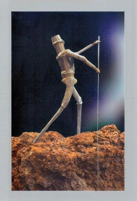 De meteorenrijder (detail)