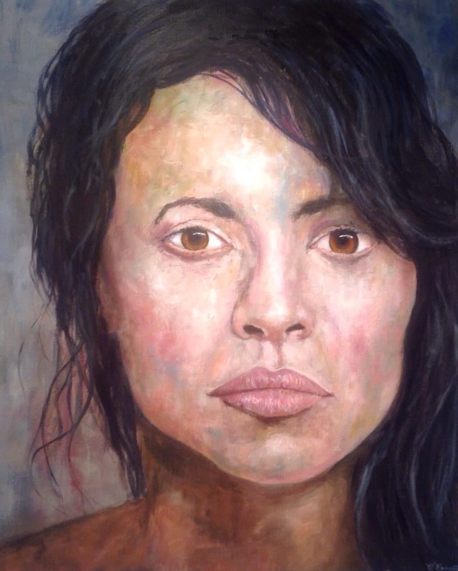 Norah Jones painting