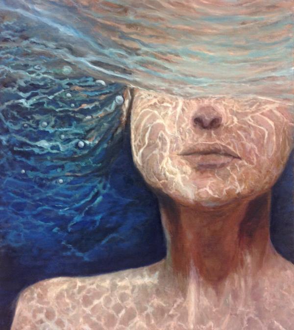 Onderwater portret