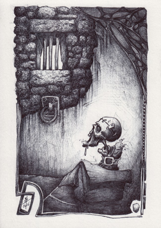 zombie, box, prison