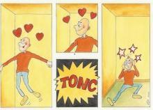 Verliefd Tonc en terug geland