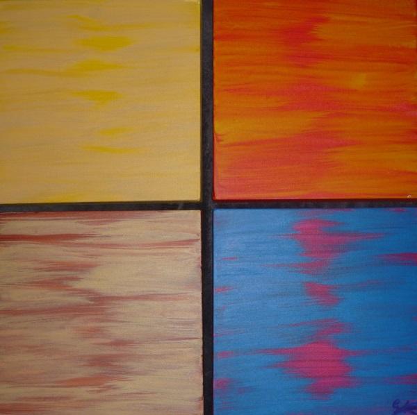 Vier doeken in één